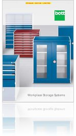 Bott Workshop Storage Systems priced catalogue for standard UK products.