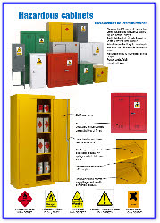Hazardous Storage Cabinets, Flamable, First Aid, PPE Cabinets