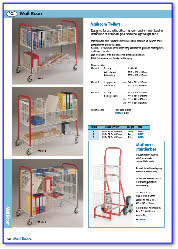Basket and Tray Trolleys, MailRoom Trollies, MailBag Trolleys