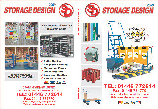 STORAGE DESIGN LIMITED 'WHITE' 2009 CATALOGUE