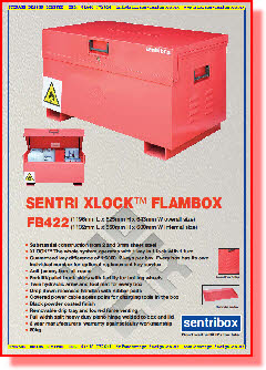 Heavy Duty Flamable Storage Boxes