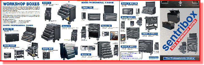 Sentri high security tool storage