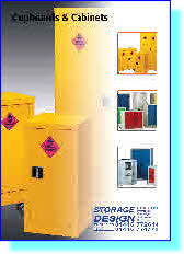 Hazardous Storage Cabinets, Acid, Alkai, PPE and First Aid Cabinets