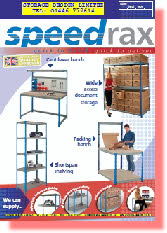 SPEEDRAX SHELVING AND WORKBENCHES FROM STORAGE DESIGN LIMITED